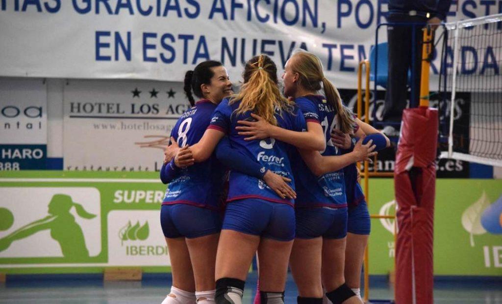 El Haro termina tercero en la Superliga Iberdrola