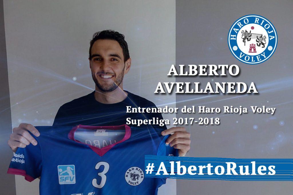 Alberto Avellaneda será el entrenador del Haro Rioja Voley la próxima temporada