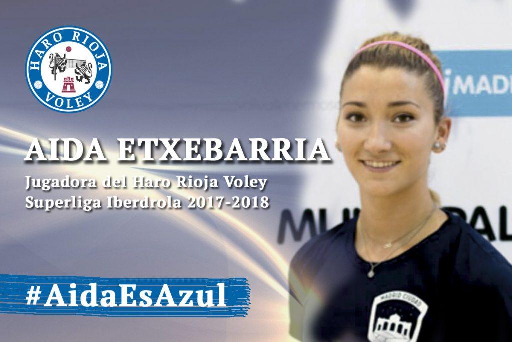 Aida Etxebarria regresa al Haro Rioja Voley
