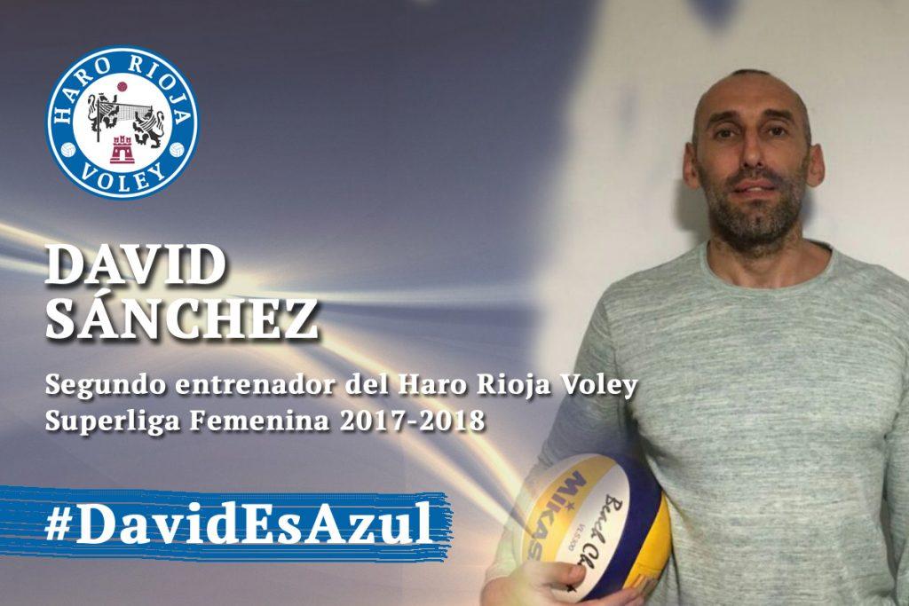 David Sánchez será el segundo entrenador del Haro Rioja Voley