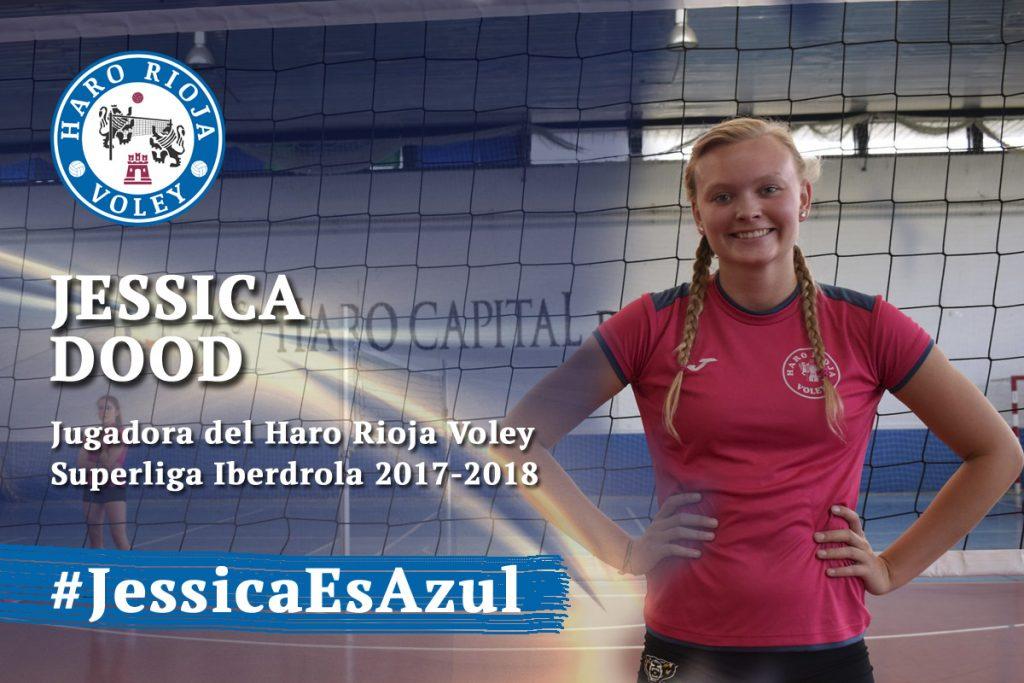 Jessica Dood, nueva jugadora del Haro Rioja Voley