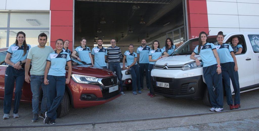 Talleres Juper y Auto Iregua colaboran un año más con el Haro Rioja Voley
