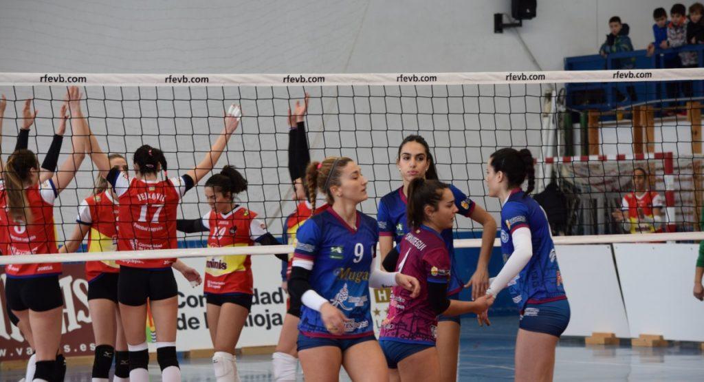 El Minis de Arluy Voleibol Logroño se lleva el primer derbi riojano de 2018