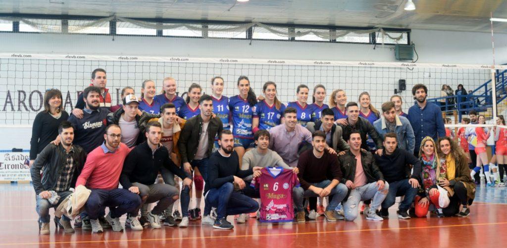 El Haro Rioja Voley vence por 3-0 al Feel Volley Alcobendas