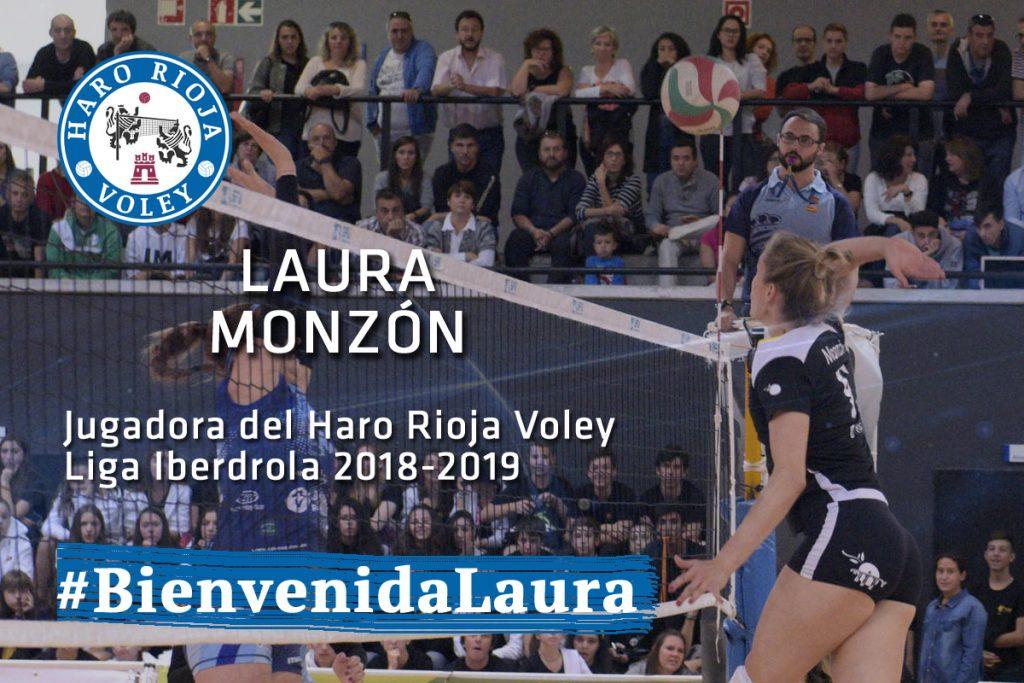 El Haro Rioja Voley ficha a la central madrileña Laura Monzón