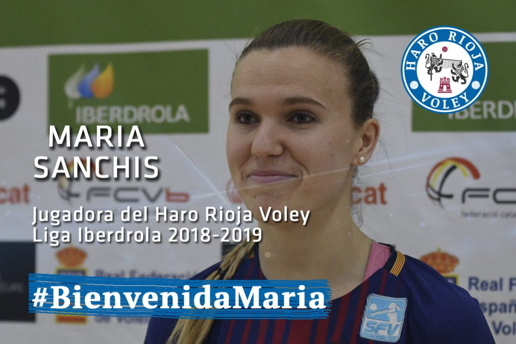 El Haro Rioja Voley ficha a la colocadora Maria Sanchis