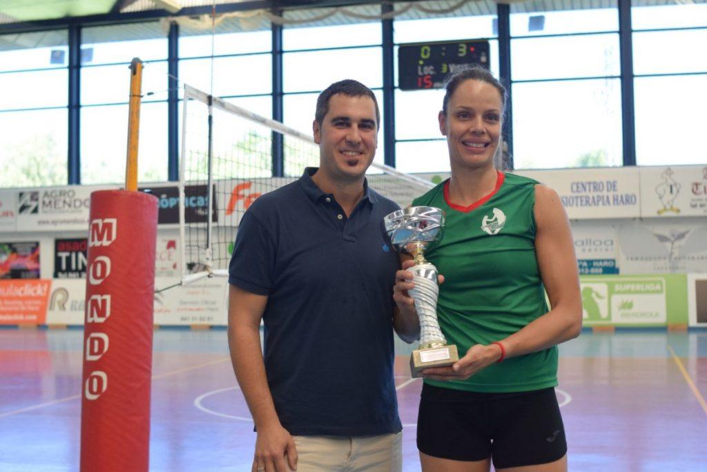 El Minis de Arluy Voleibol Logroño, campeón del Torneo Comunidad de La Rioja-Memorial Lorena Ojeda