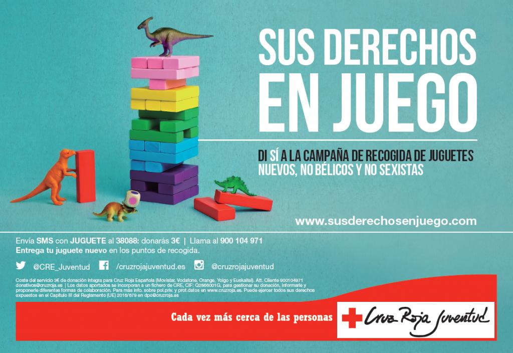 El OSACC Haro Rioja Voley colabora con Cruz Roja Juventud en la recogida de juguetes