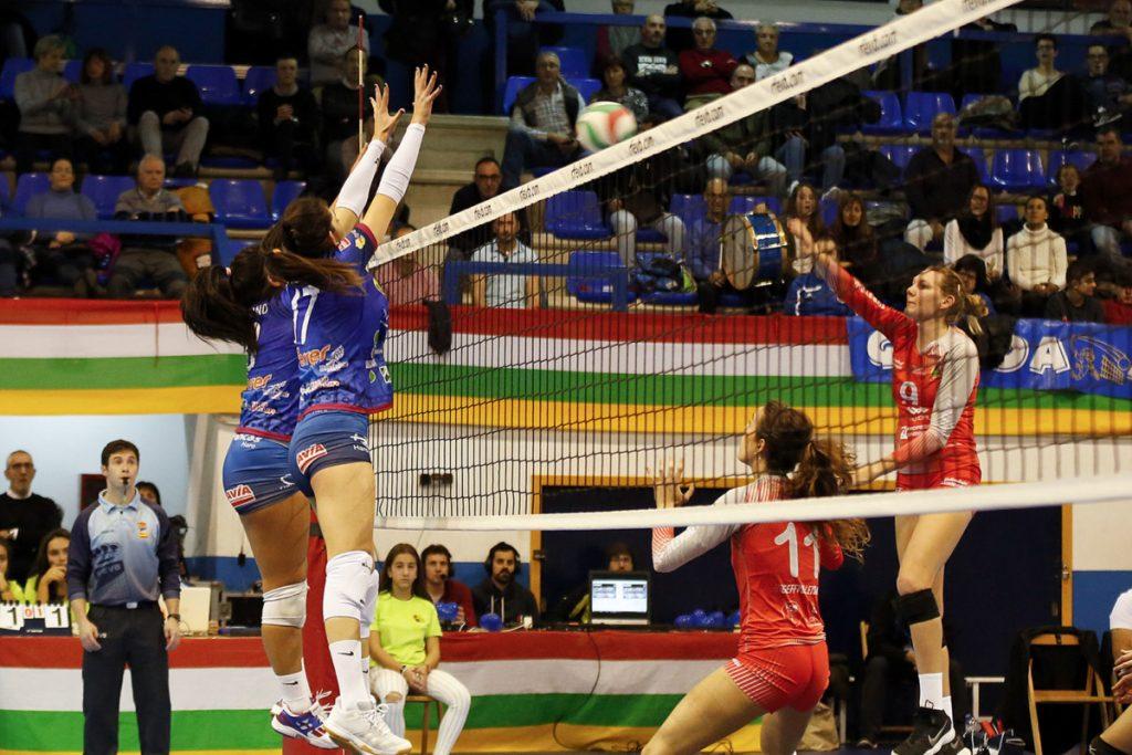 El Feel Volley Alcobendas aleja al OSACC Haro Rioja Voley de la Copa