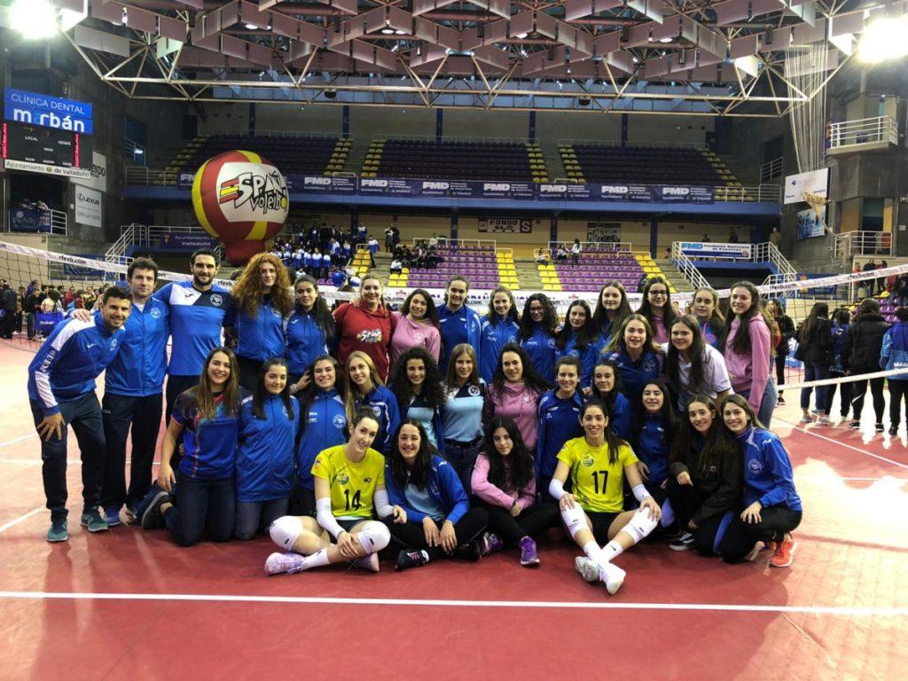Gran papel de la cantera del OSACC Haro Rioja Voley en la Copa de España de Valladolid
